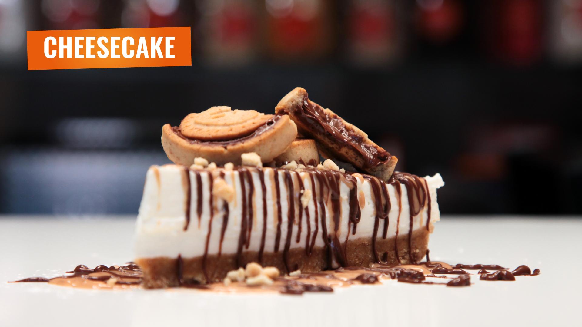Cheesecake allo Yogurt e cioccolato de La Yogurteria